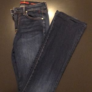 Sz 27 Bootcut 7 for all Mankind jeans.